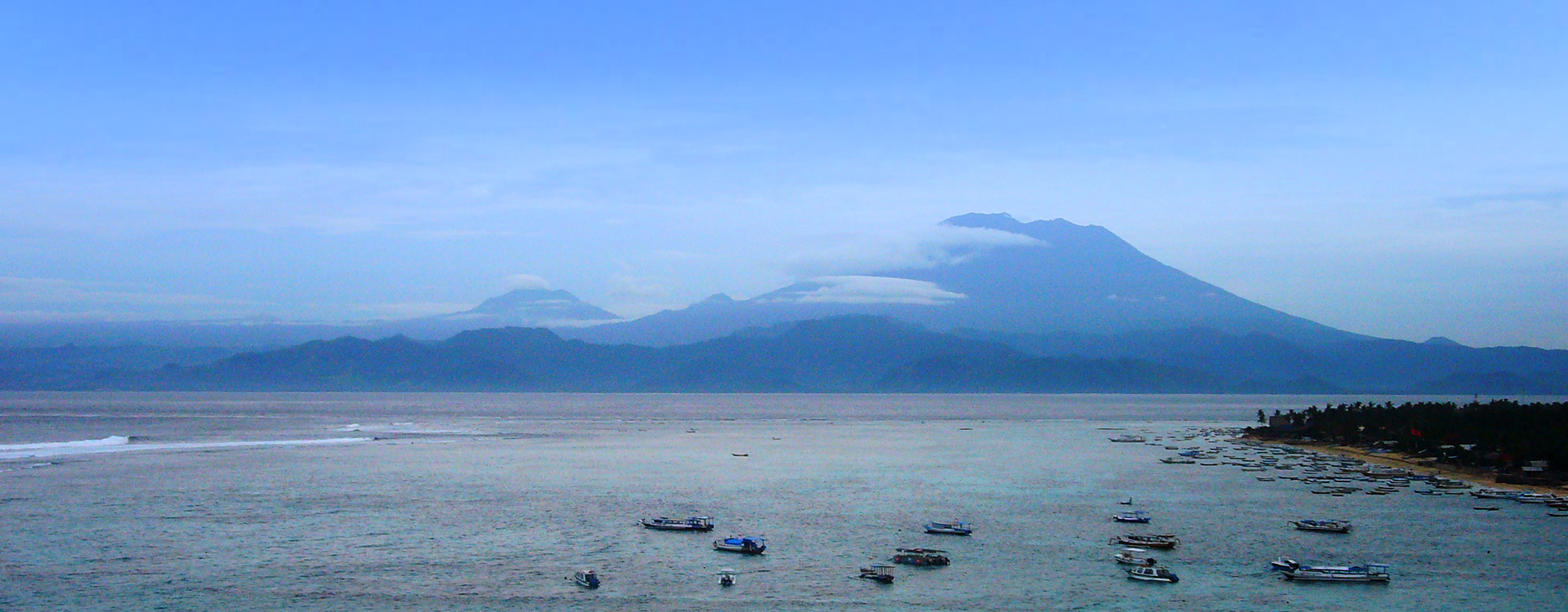 Mount Agung From Nusa Lembongan